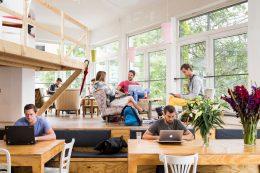 Mô hình cho thuê chỗ ngồi làm việc